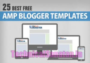amp blogger templates free download