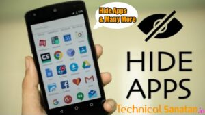 how to hide apps in Android devices