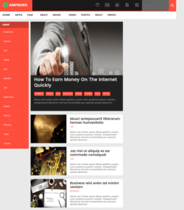 AMPNEWS Template