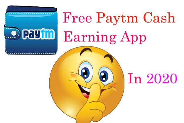 Free-paytm-cash-earning-app