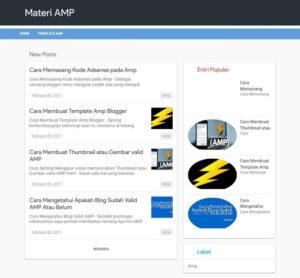 Materi AMP