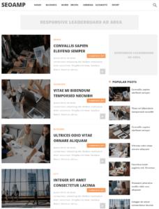 SEOAMP Blogger Template
