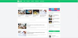 Seoify Blogger Template