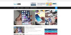 TechNews Blogger Template