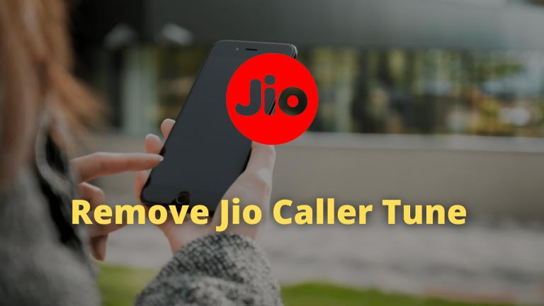 How To Remove Jio Caller Tune
