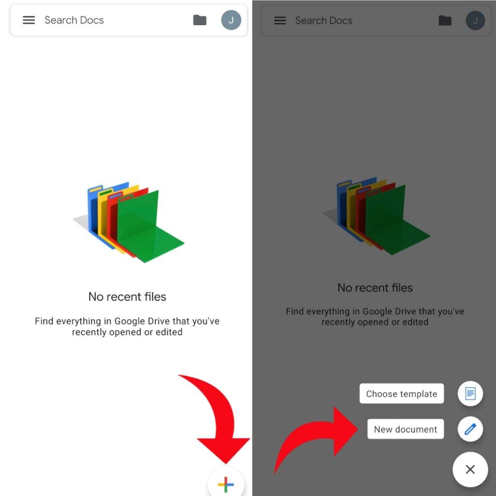 open docs to create pdf